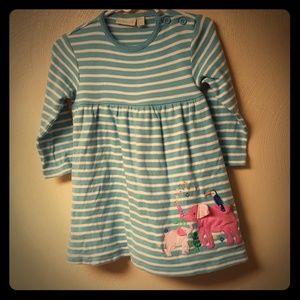 Jojo maman bebe baby girl elephant dress